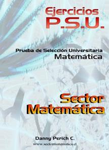 Sector Matemática   PSU   Prueba de Selección Universitaria